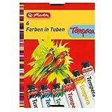 Herlitz 8643041 Temperafarben 6 Tuben je 16ml