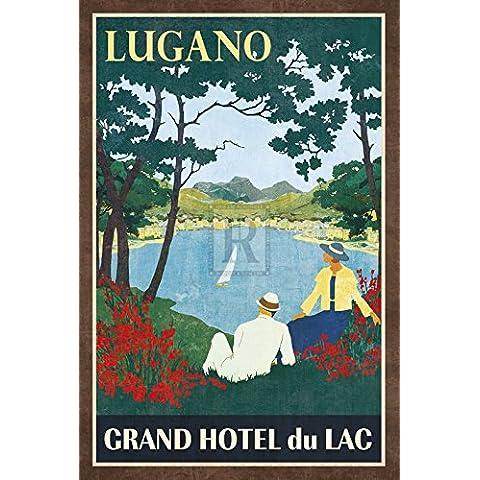 Collection Caprice – Grand Hotel Lugano Artistica di Stampa (40,64 x 60,96 cm)