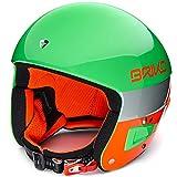 Briko Vulcano FIS 6.8 Helm, Grün/Neonorange, grün, 56