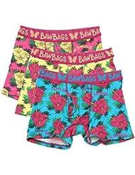 Bawbags 3 Pack Aloha Mens Boxers
