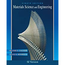 Materials Science and Engineering by William D. Callister (2011-07-30)