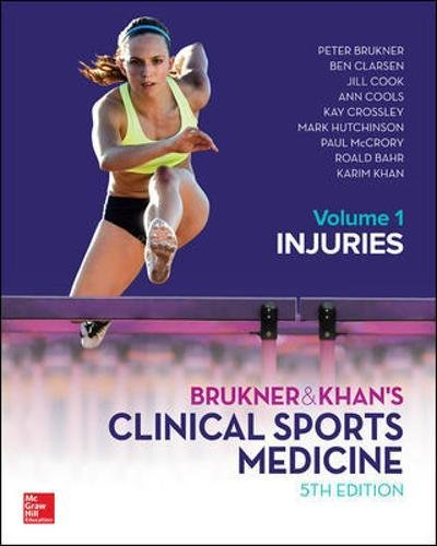 BRUKNER & KHANS CLINICAL SPORTS MEDICINE INJURIES  VOL 1