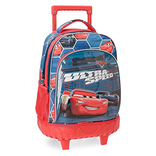Cars Ultra Speed Adaptable Backpack with Trolley
