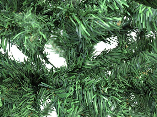 EUROPALMS Tannenbaum, Höhe 180cm | Klassischer und sehr Dichter Christbaum | Flammhemmender Kunstbaum | Inkl. Fuß/Ständer