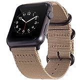BarRan Apple Watch Sport Correa 42mm, Nylon Quick Release Adapters Correa de Reloj para Apple Watch Sport,Series 3, Series 2, Series 1