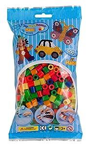 Hama 8472 Tube Bead Multicolor 500 Pieza(s) - Abalorios (Tube Bead, Multicolor, 500 Pieza(s), Bolsa de plástico)