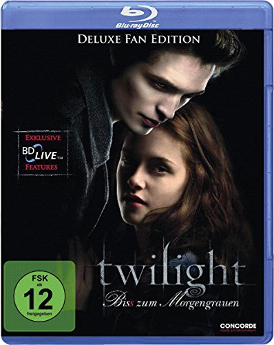 Twilight - Bis(s) zum Morgengrauen (Deluxe Fan Edition) [Blu-ray] (Twilight Blu Ray)