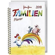 Helme Heine Familienplaner Buch A5 - Kalender 2018