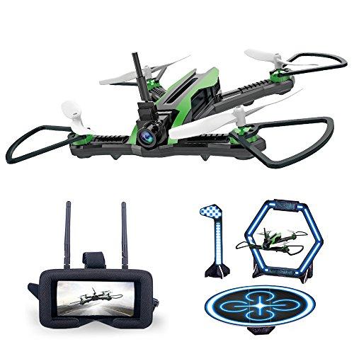 Altsommer Drohne 5.8G FPV mit Weitwinkel-0.3MP-Kamera,Höhe- halten-Funktion,5.8G Echtzeit-Bildübertragung,Drohne mit Hindernisse überwinden,EIN-Tasten-Rückkehr,3D-Flips für Kinder (A)