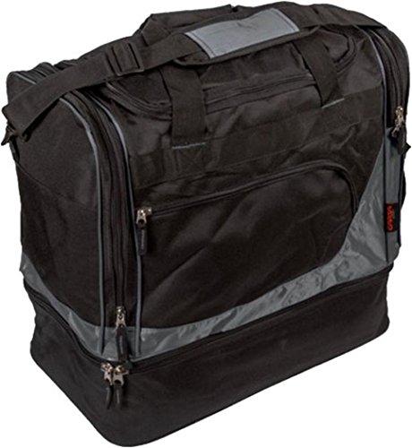 CARTA SPORT BAG TRAVEL DUFFLE Storage Gepäck Team Kit Reisetasche + Schuhfach schwarz - anthrazit