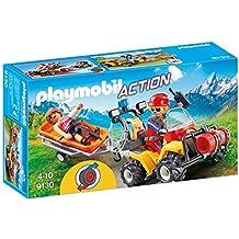 Playmobil - Quad de Rescate de Montaña (9130)