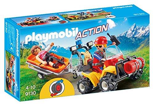 Playmobil-9130 Mountain Rescue Quad (9130)