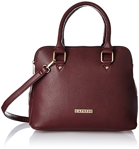 Caprese Women\'s Satchel (Burgundy)