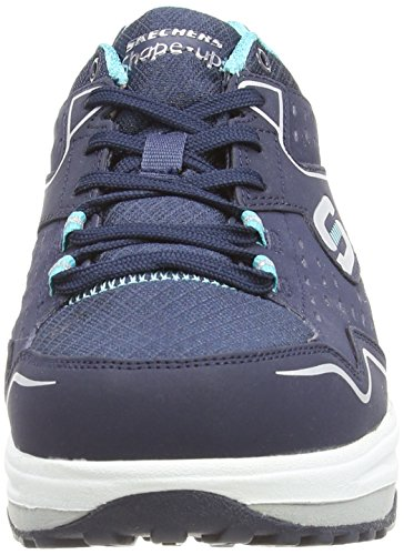 Skechers Shape Ups 2.0 Everyday Comfort, Women's Fitness Shoes, Blue (Navy/Light Blue), 8 UK (41 EU)