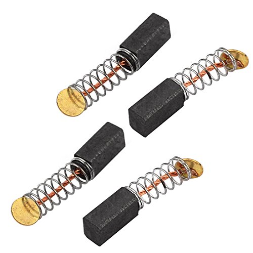 sourcingmap® 2 Paare 9x5x4mm Kohlebürsten Elektrowerkzeug elektrischer Hammer Bohrmaschine de