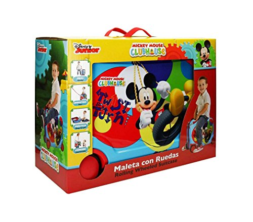 51c9KjZ%2BARL - 2889951 Maleta trolley ABS correpasillos equipaje mano Mickey Mouse 50x39x20cm