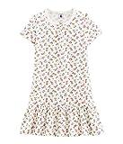 Petit Bateau Chemise de Nuit MC_4688101 Camicia da Notte Bambina, Mehrfarbig (Marshmallow/Multico 01) 104 cm