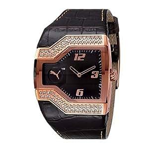 Puma Time - 4405277 - Montre Femme - Quartz - Analogique - Bracelet Cuir Marron