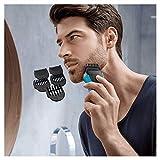 Braun Series 3 Shave und Style Elektrischer Rasierer und Trimmer 3010BT, blau/schwarz - 7