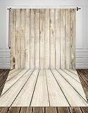 Hua Photo® 150* 300cm Tabelle Holz Wallpaper Kinder Fotografie des Baby Vinyl Hintergrund für Photo Studio, Galerie Bambusvorhänge xt-1799