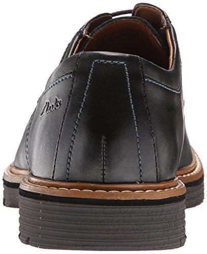 Clarks Newkirk Plaine Oxford Black Leather