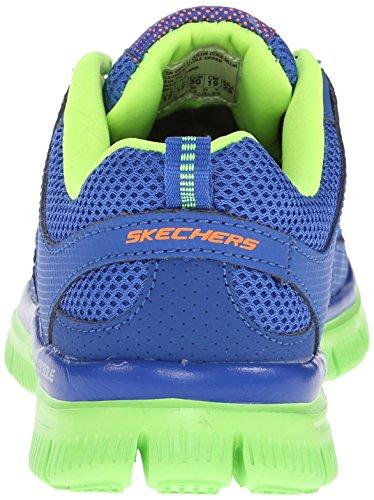 Skechers Flex Advantage, Chaussures de sports en salle garçon BLLM