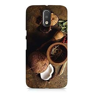 Hamee Designer Printed Hard Back Case Cover for Motorola Moto E3 Design 4819