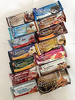 Quest Nutrition, 14 Protein Bars, Variety pack, NEW PACK (B00NSSJ2PK)   Amazon price tracker / tracking, Amazon price history charts, Amazon price watches, Amazon price drop alerts