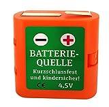 Batteriehalter 4,5 Volt, Flachbatterie