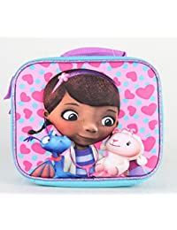 Preisvergleich für Disney DOC Mcstuffins 3D Pop-up Insulated Soft Lunch Bag Girls Snack Lunch Bag