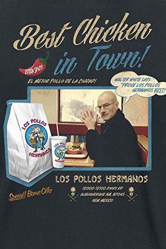 Breaking Bad Los Pollos Hermanos - Best Chicken T-Shirt Schwarz Schwarz