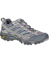 Merrell Men's Moab 2 Vent Low Rise Hiking Boots Grey (Castle Rock) 6.5 UK