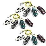 12 Stück Modellauto beleuchtet LED zu Spur H0