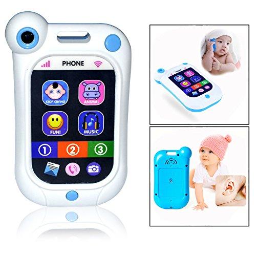 OFKPO Kinder Handy Smartphone mit Sound & Musik Spielzeug,Geschenke für Kinder,Baby und Kleinkind
