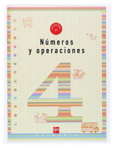 Cuaderno 4 de números y operaciones. 2 Primaria - 9788434897274