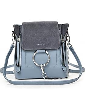 NUCLERL reizender Mini rucksack für Mädchen PU Leder Dame Kleiner Rucksack