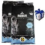 2 x 11 kg Bozita Robur Senior Hundefutter weizenfrei für ältere Hunde + Geschenk