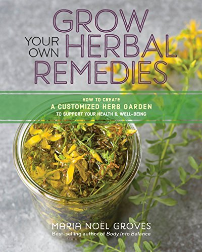 Grow Your Own Herbal Remedies: How to Create a Customized Herb Garden to Support Your Health & Well-Being (English Edition) -