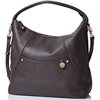 PacaPod Jasper Designer Chocolate Leather Baby Changing Bag - Luxury Brown 3 in 1 Organising System