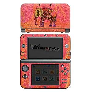 DeinDesign Skin kompatibel mit Nintendo New 3DS XL Folie Sticker Elefant Indien Orient