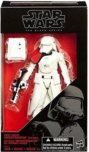Star Wars Episode VII Black Series Figure 2015 First Order Snowtrooper Officer Exclusive 15 cm Hasbro Action Figures