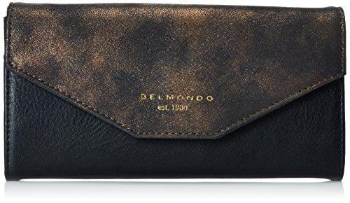 Belmondo740237 06, Pochette da giorno, Donna, Marrone (bronzo combi), 19x11x2 cm (B x H x T)