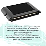 Hongdett Professional Portable for SEGA EverDrive MD Cartridge Small Size Mega Drive Vintage Console Cartridge