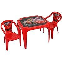 TW24 Disney Kindertisch mit 2 Stühlen - Kindersitzgruppe - Kunststoff Sitzgruppe mit Farbauswahl preisvergleich bei kinderzimmerdekopreise.eu