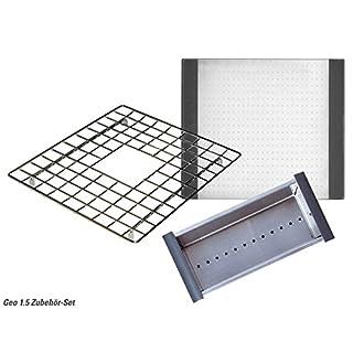 Astracast Geo 1.0 Zubehör Set Schneidbrett Resteschale Abtropfgitter Spüle Küche