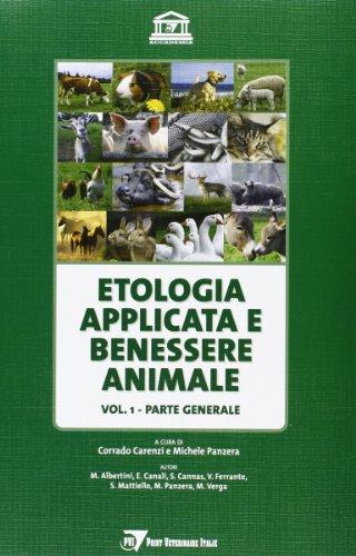 Etologia applicata e benessere animale: 1