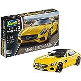 Revell Modellbausatz Auto 1:24 - Mercedes-Benz AMG GT im Maßstab 1:24, Level 3, originalgetreue Nachbildung mit...