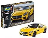 Revell Modellbausatz Auto 1:24 - Mercedes-Benz AMG GT im Maßstab 1:24, Level 3,...