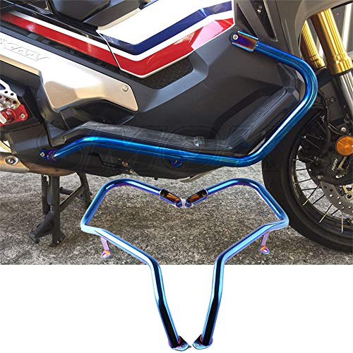 Preisvergleich Produktbild LAIDAN Für Honda X-ADV 750 Motorrad Sturzbügel / Schutzbügel-Protektoren Schützt Crash Bars Rahmen Protector Schutz Edelstahl Rahmen Verkleidung Sturzpad-Kit