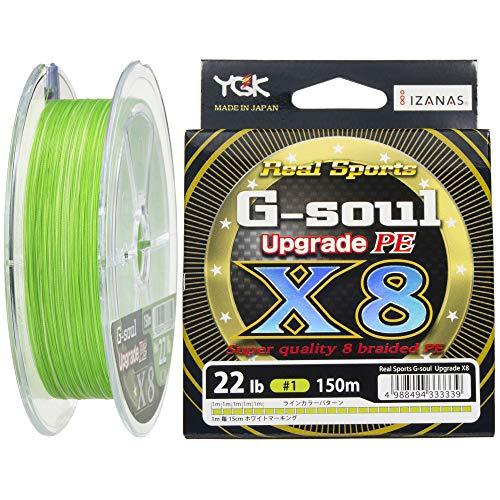 YGK P.E Line G-Soul X8 Upgrade 150m P.E 1 , 22lb (3339)